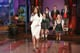 Kim Kardashian joined in to sing farewell to Jay Leno.
