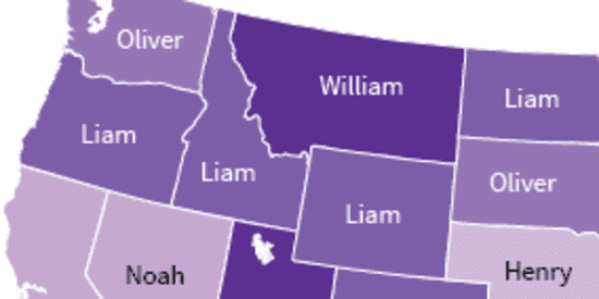 These Were The Most Popular Baby Names In Each State Last Year