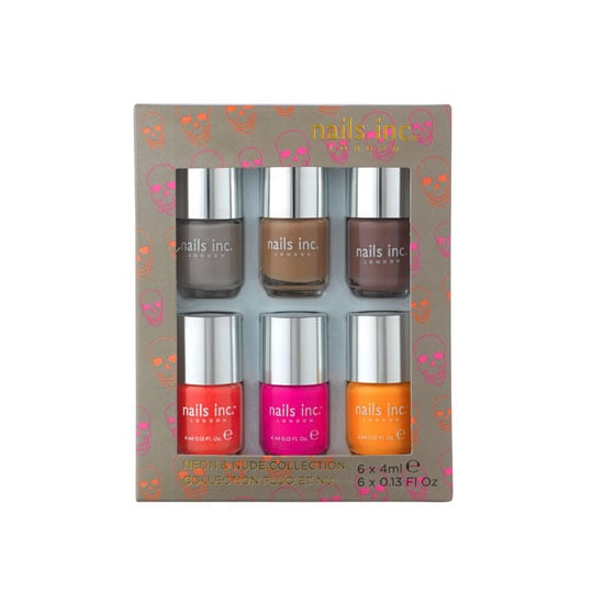 Nails Inc Nude and Neon Set of 6, $39.95