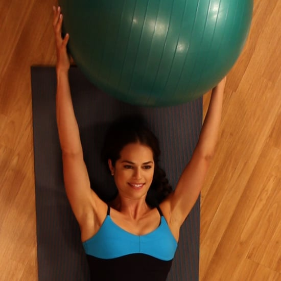 How to Do the Ball Pass Ab Exercise
