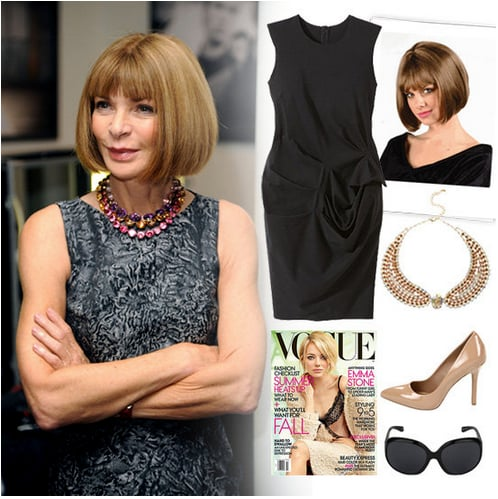 We showed you an easy Anna Wintour-inspired costume.
