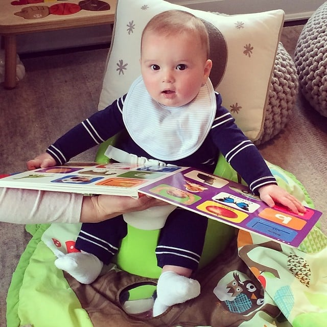 Joseph Kushner chose to read books rather than party in the desert.  Source: Instagram user ivankatrump