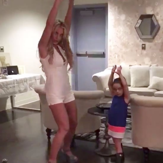 Britney Spears and Niece Dancing to Madonna | Video