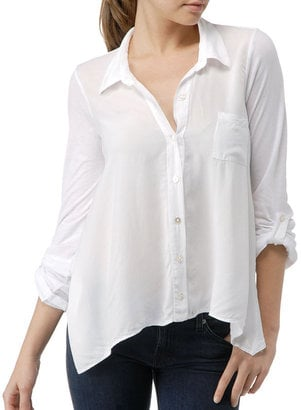 White Button-Down Shirts