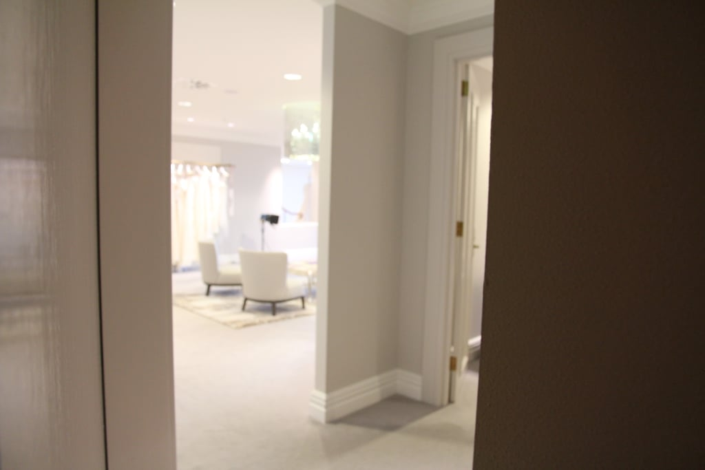 A sneak peek at the bridal suite where the VIPs hang, MK included.