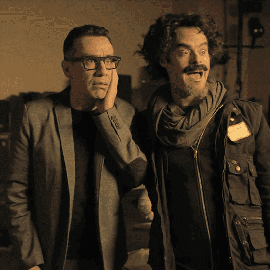 Birdman Spoof With Fred Armisen and Kristen Bell