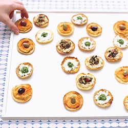 Menu For Mediterranean Appetizer Party