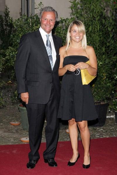 Gucci Group CEO Robert Polet, Anne Christine Polet