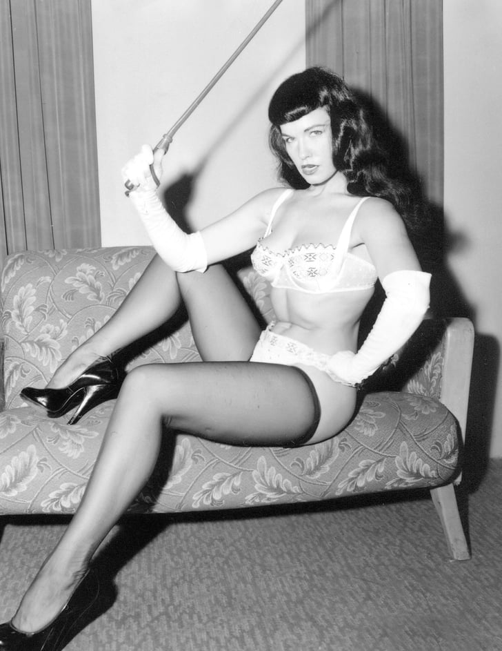 RIP, Pinup Queen, Bettie Page
