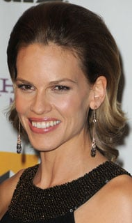 Hilary Swank's Hair at the 13th Annual Hollywood Awards