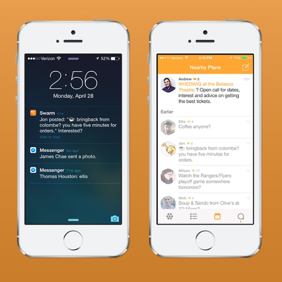 Foursquare Redesign And Swarm