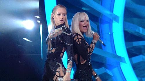 Iggy Azalea and Rita Ora Took Their Turn on Stage