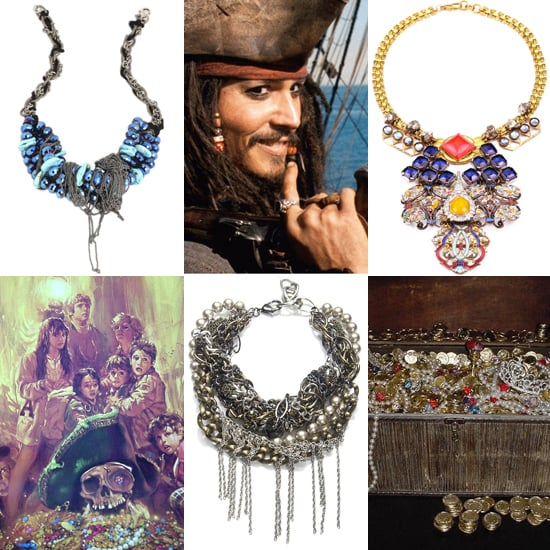 10 Statement Necklaces Inspired by Visions of Buried Treasure