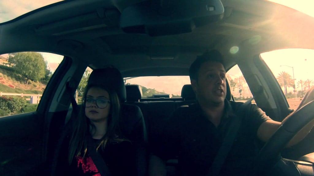 Father-Daughter Lip Sync