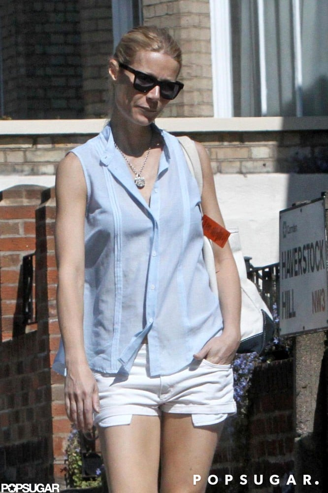Gwyneth Paltrow was out and about in London.