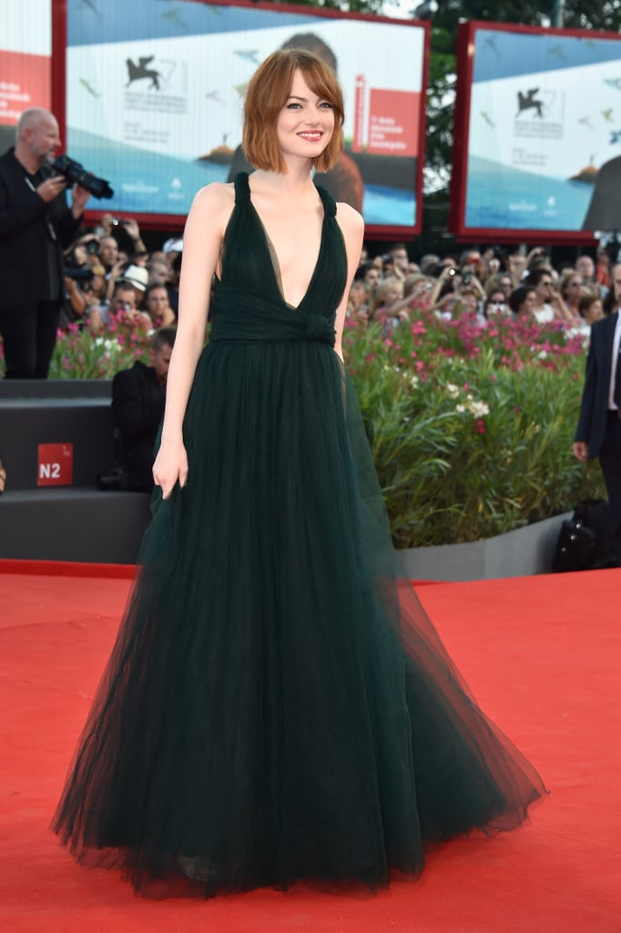Emma Stone dazzled at the opening ceremony.