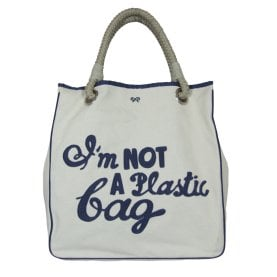 "On Our Radar: Anya Hindmarch's ""I'm Not a Plastic Bag"""