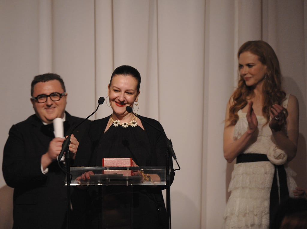 Alber Elbaz, Sophie Theallet, Nicole Kidman