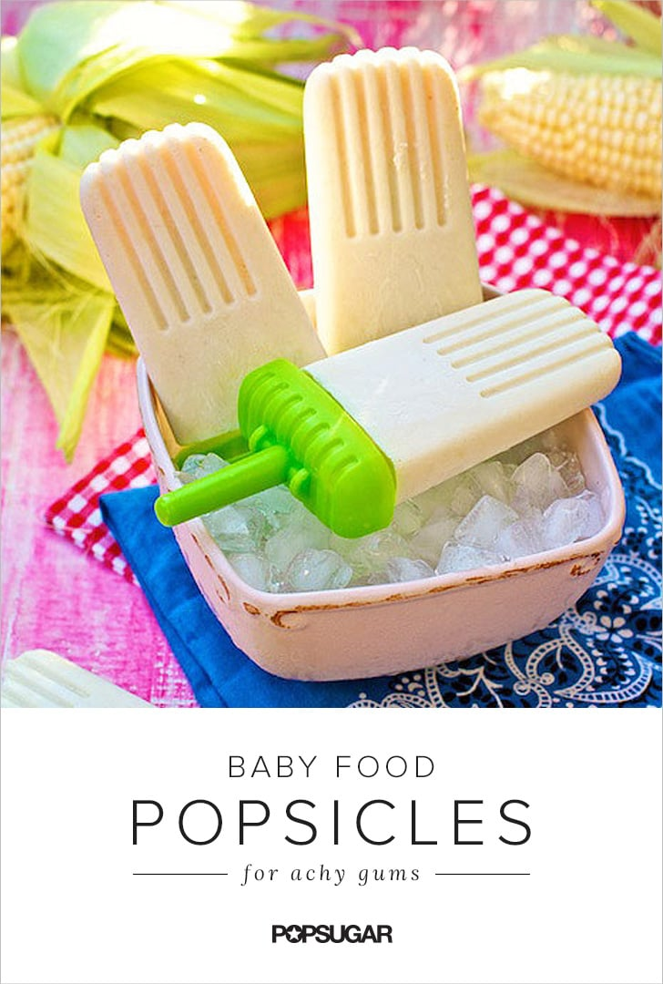10 Baby Food Popsicles Sure to Soothe a Teething Tot