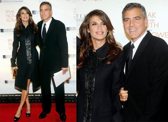 George Clooney and Elisabetta Canalis Together in NYC