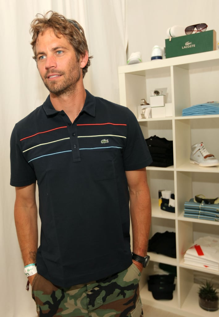Paul attended a Lacoste-hosted pool party during Coachella in April 2010.