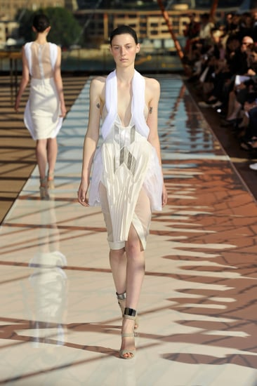 Rosemount Australian Fashion Week Trends: Pleats as seen at Dion Lee, Alice McCall, Christopher Esber and White Suede