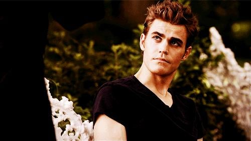 """Stefan has what's known as """"hero hair."""" Take it all in."""