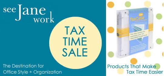 Sale Alert: See Jane Work Tax Time Sale