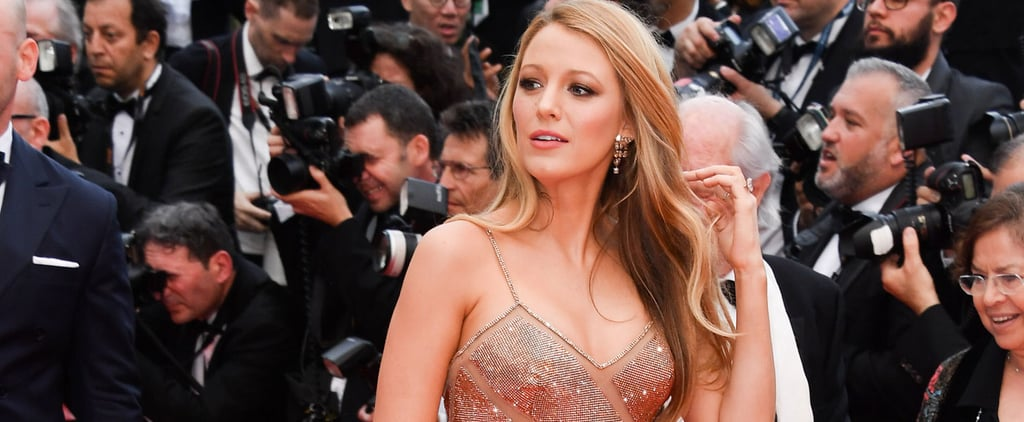 Blake Lively Dressed Her Baby Bump in Sequins and Cutouts For Cannes