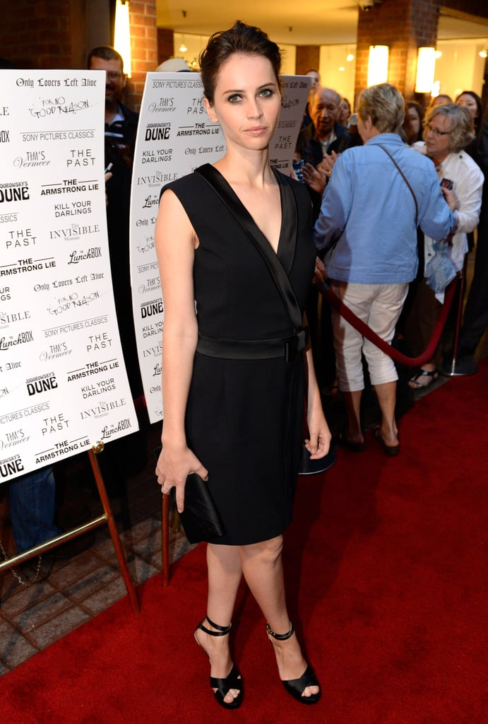 Felicity Jones attended the Sony Pictures Classics cast dinner.