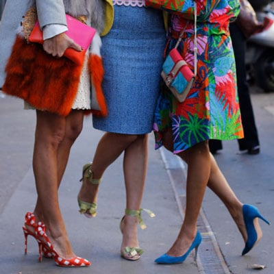 Pointy Toe Pumps Street Style From Milan Fashion Week 2012