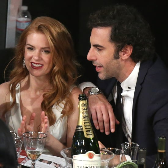 Isla Fisher And Sacha Baron Cohen Together, 2014 SAG Awards