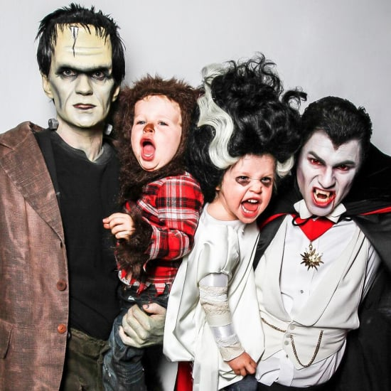 Neil Patrick Harris and His Family in Halloween Costumes