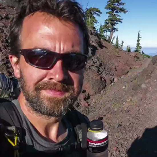 Man Takes Selfie During 2,660-Mile Hike on PCT