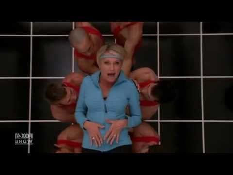 """Sue Sylvester and Olivia Newton-John team up to remake """"Physical"""" on Glee"""