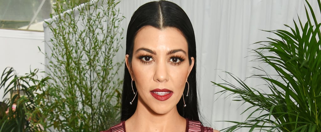 Kourtney Kardashian Clearly Wanted All Eyes on Her at the Glamour Awards