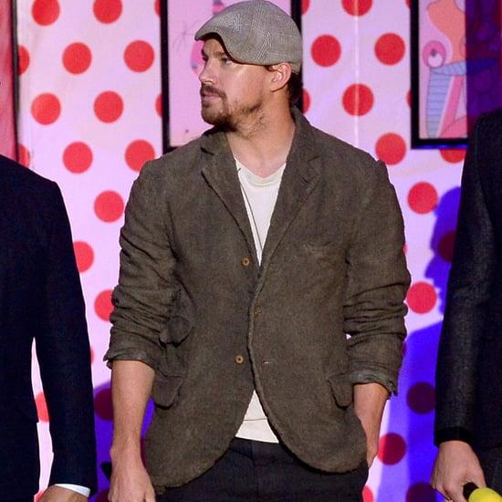 Channing Tatum Dancing at the MTV Movie Awards 2015