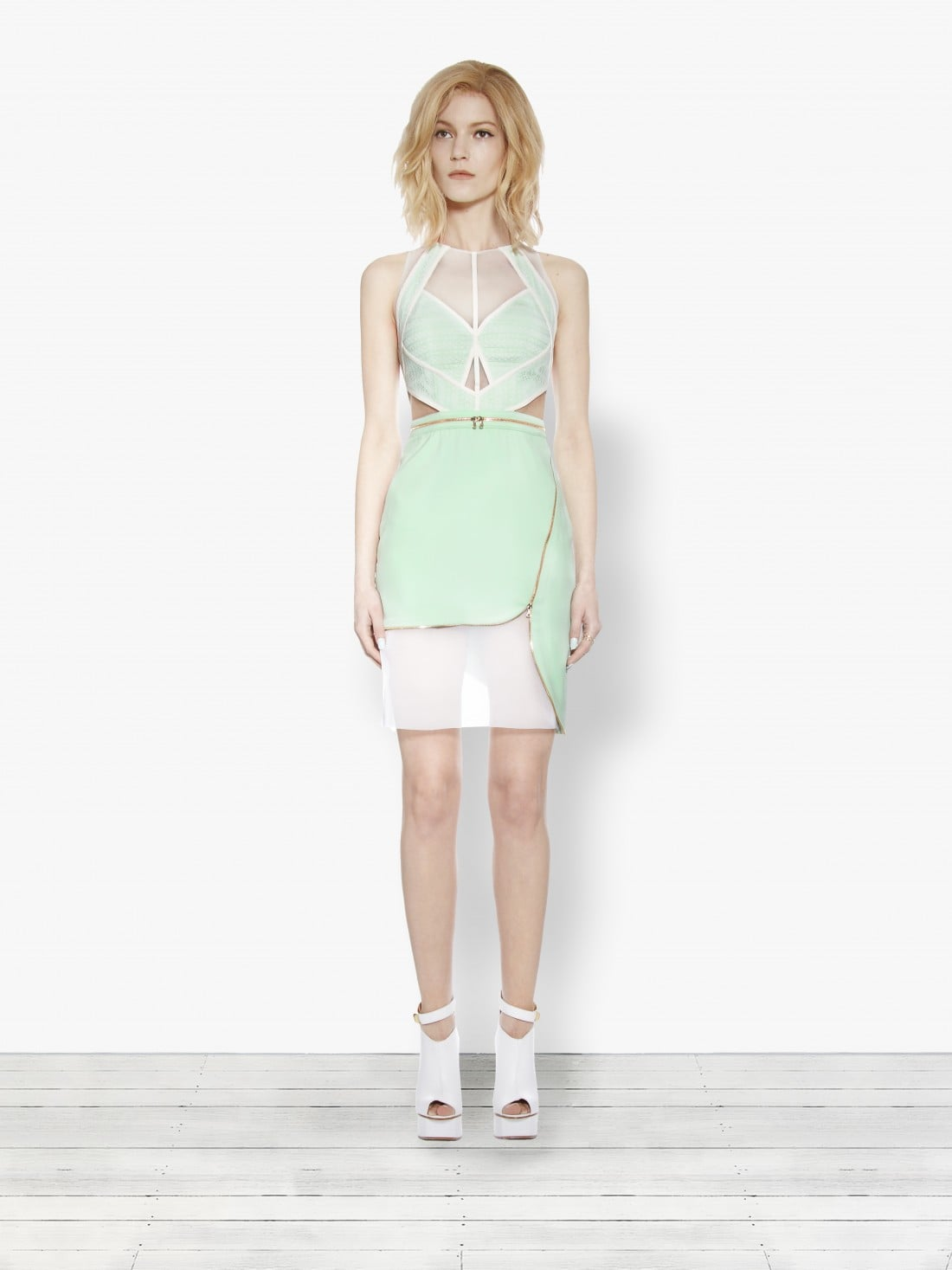 Three Floor Fashion Dress