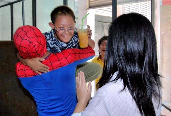 Week in Weird News: Spider-Man Saves Boy in Thailand