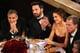 George Clooney, Ben Affleck, and Jennifer Garner sat together at the Golden Globes.