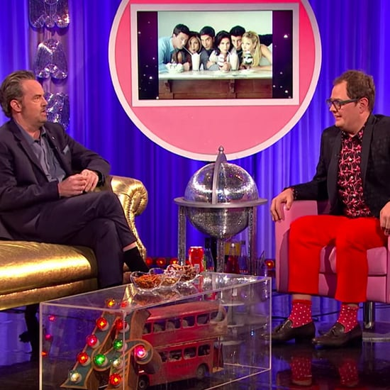 Matthew Perry Has Friends Reunion on Alan Carr's Chatty Man