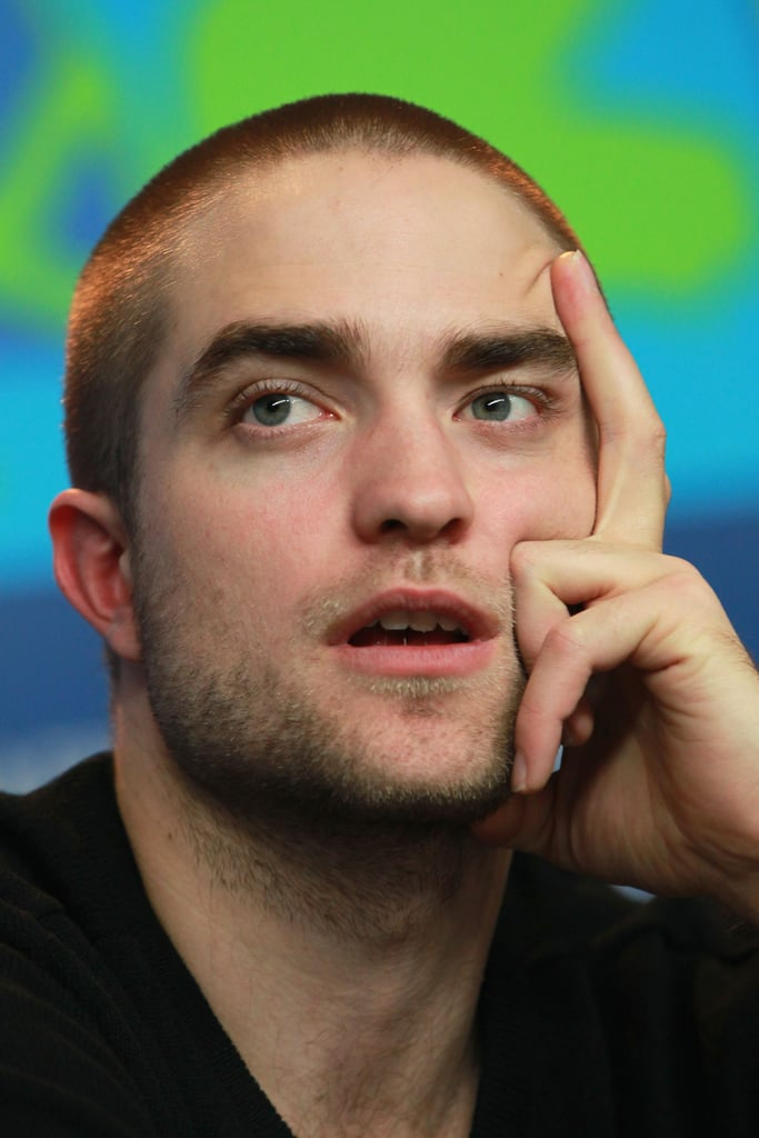 Rob still looked handsome even as he was deep in thought.