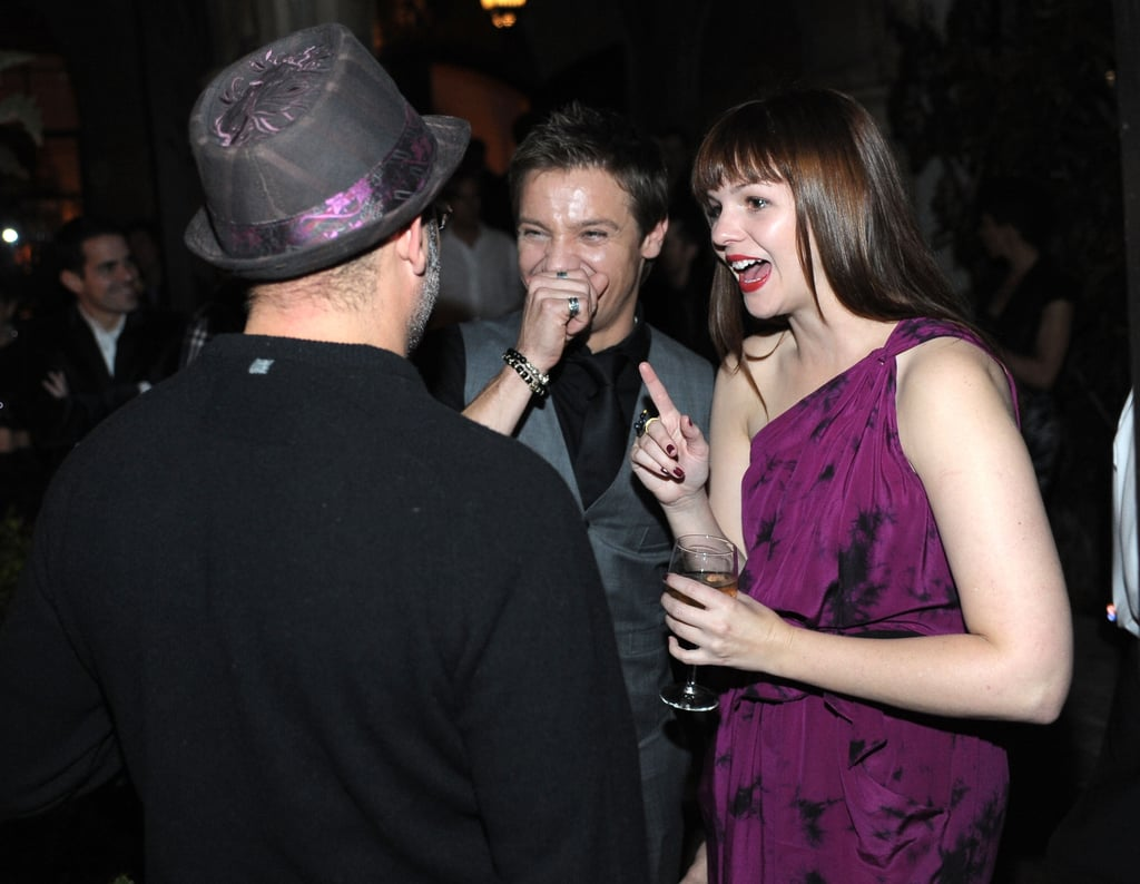 Minka, Jon, Claire, and MCH Get the SAG Party Started Early