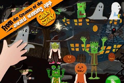 ClickySticky Halloween Sticker Book