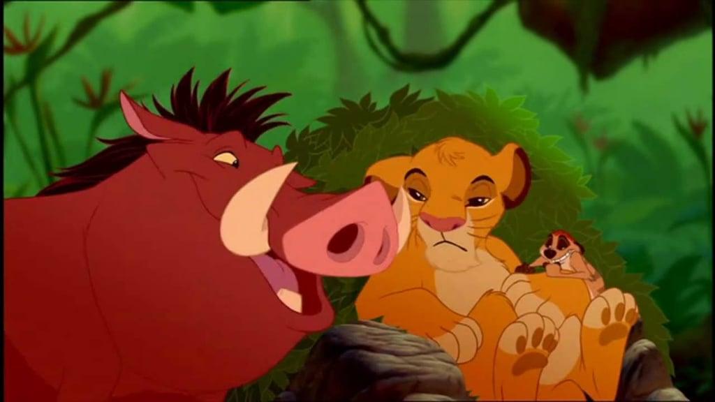 """""""Hakuna Matata,"""" The Lion King"""