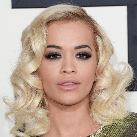 Rita Ora's Hair and Makeup at the Grammys 2014