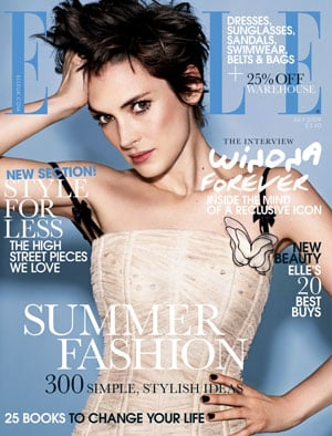 Extracts From Star Trek Star Winona Ryder's Interview In UK Elle Magazine Plus Cover Photo