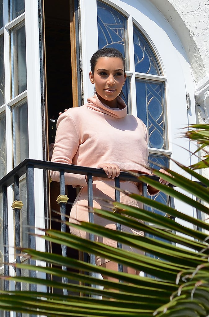 Kim Steals Her Sister's Bikini and Isn't Sorry About It