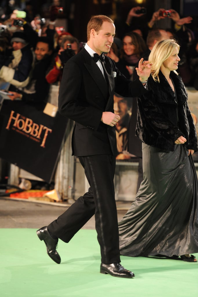 Prince William attended the Royal Film Performance of The Hobbit.