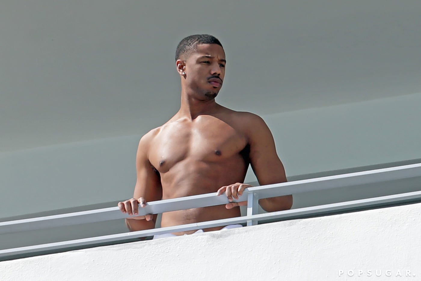 Michael B. Jordan's Muscles Soak Up the Sun